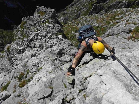 Klettersteig Drachenwand Klettersteigkurs Bergführer