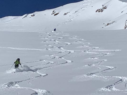 Bergführer Schitour Stubaier Alpen