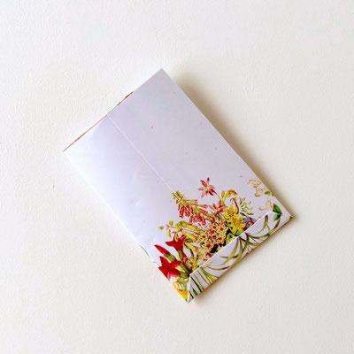 Briefchen für Samen aus Kartonrolle basteln