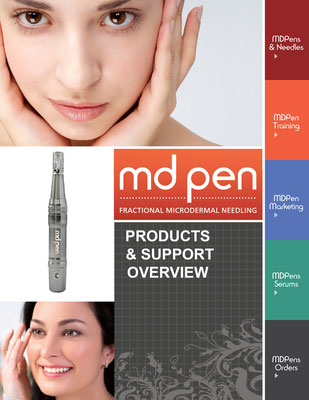 Cover design for MD Pen product guide