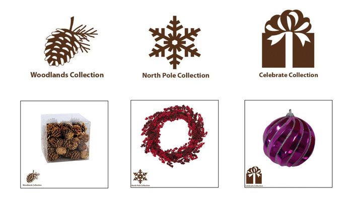 Icons created for Martha Stewart Holiday Collection
