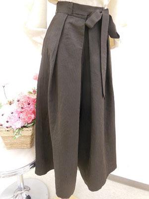 袴からのワイルドパンツ