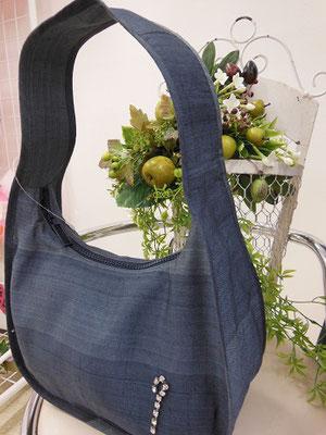 大島紬のバッグ