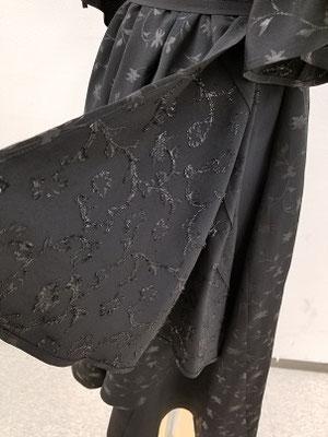 巻きスカート部分
