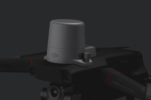 RTK-Modul Unterstützt NTRIP und ist in der Lage eine Positionierungsgenauigkeit im Zentimeterbereich zu erzielen.