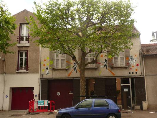 Hommage à la maison de mon enfance, 2 jours avant sa démolition , Le Perreux sur marne ,2013