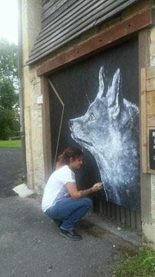 foxchallenge #drawmeafox pour défendre les renards - Parcours artistique Champsboultou - Boult aux bois (08)