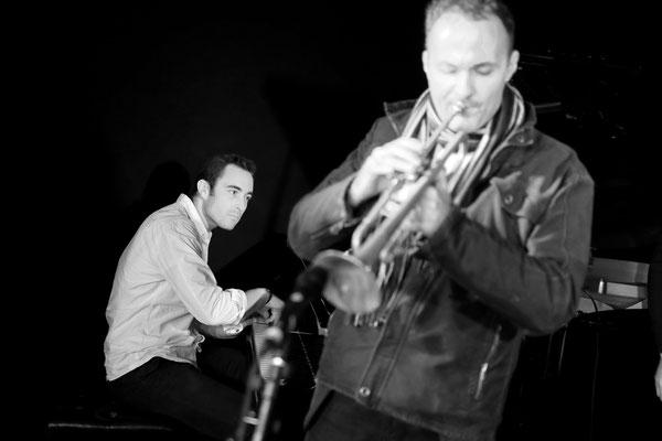 Jazz club Enzo Carniel: piano; Nicolas Folmer: trompette.  Samedi 23 novembre 2013