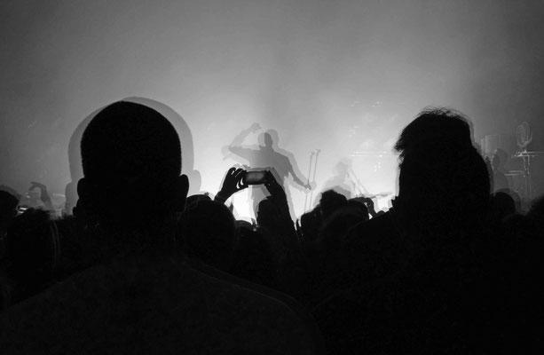 Oxmo puccino, Roi sans carosse, pendant le concert, octobre 2013