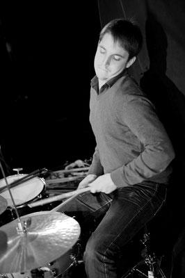 Jazz club, Nicolas Charlier: batterie. Samedi 23 novembre 2013