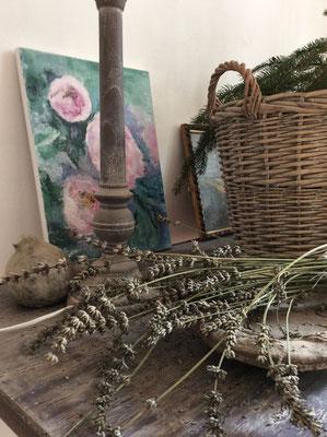 le jardin est très présent et s'invite dans la maison d'hôte du Manoir en Agenais