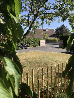 parking privé pour motos maison d'hôtes au Crotoy