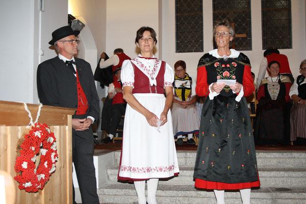 Johanna Schnizler und Lydia Mehli
