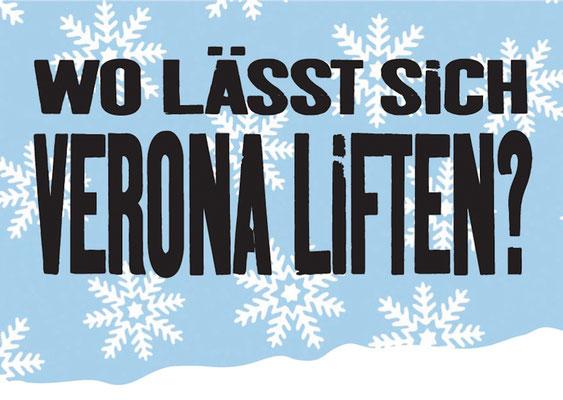 Danke, Verona, da wurden wir toll von Dir geholfen.