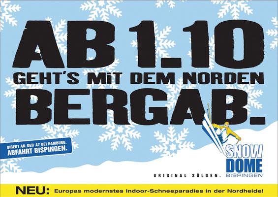 18/1-Plakat in HH, HB und H als Teaser.