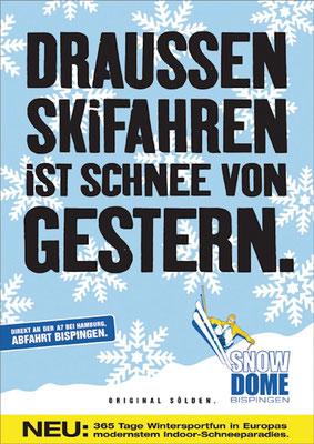 DER Leitgedanke der Kampagne - u.a. gedruckt auf alle Eintrittskarten.