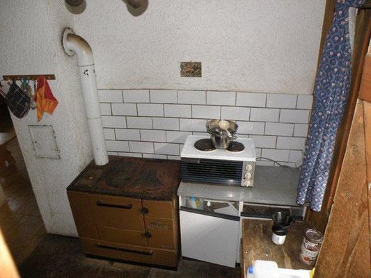 Küche ohne Wasser
