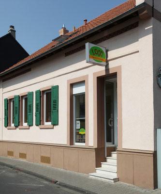 Unsere Räumlichkeiten in Offenbach-Bieber - Außenansicht