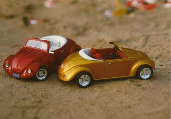 Mini Speedster. Basismodell: Wiking. Ein Kunde (Zahntechniker) hat diese Modelle im Maßstab 1:87 hergestellt. Toll!!