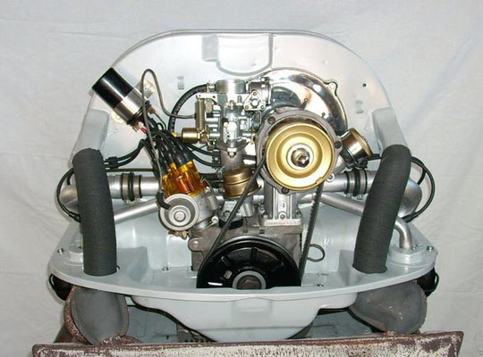 1600er, 37KW/50PS als Komplettmotor in Grau. Ab € 4.999,-