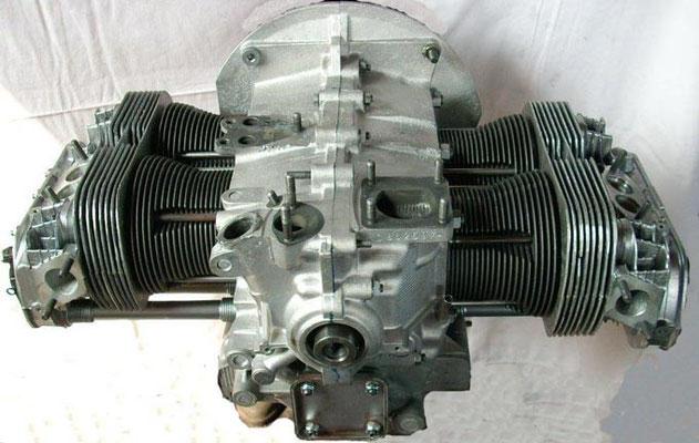 Rumpfmotor, 1600er, 37KW/50PS mit Schwungscheibe. Axialspiel ist eingestellt. Ab € 2699,-