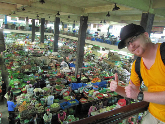 Central Market - Frischgemueseabteilung.