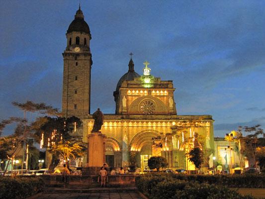 Die Kathedrale von Manila.