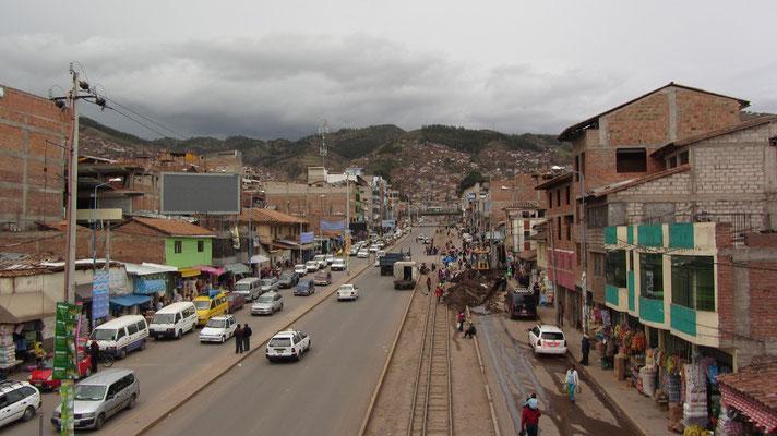 Cusco kann auch hässlich sein. Manchmal auch gefährlich. Diese Gegend sollte mit Vorsicht besucht werden.