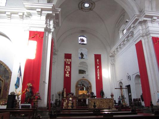 In der Kirche des Heiligen Franzikus.