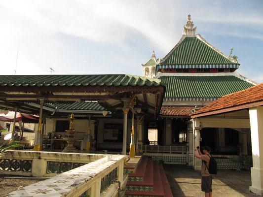 Die Kampong Kling Moschee.