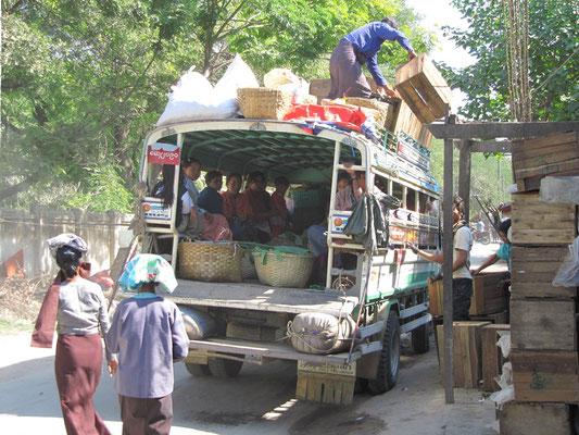 Pick-Up-Entladung. (Amarapura)