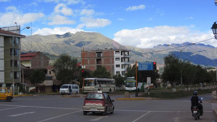 Ja stimmt, Cusco liegt hoch in den Anden.