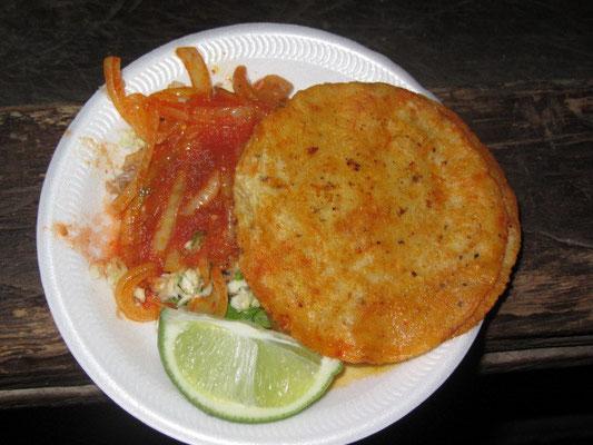 Tacos de Pollo.