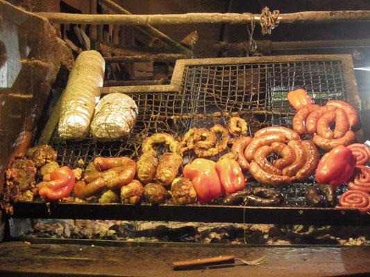 Asado auf dem Mercado del Puerto.
