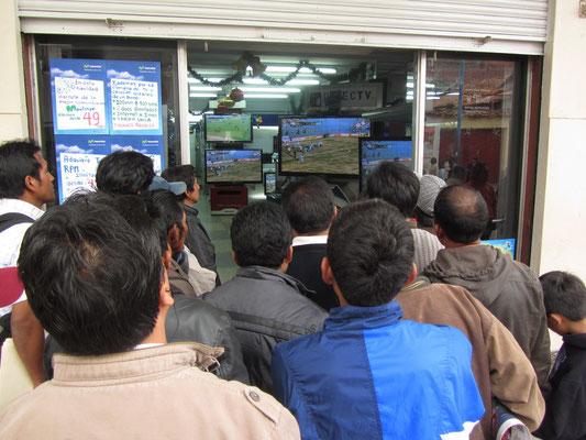 Fußball ist wie im Rest von Südamerika ganz klar Sportart Nummer 1.