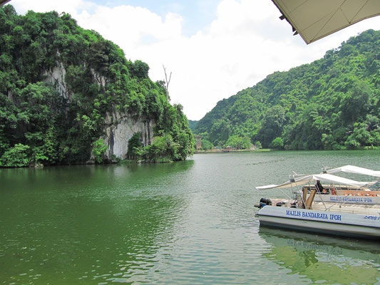 Der See im Gunung Lang Recreational Park.