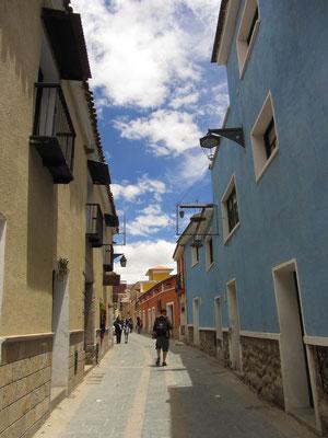 In den Straßen von Potosi.
