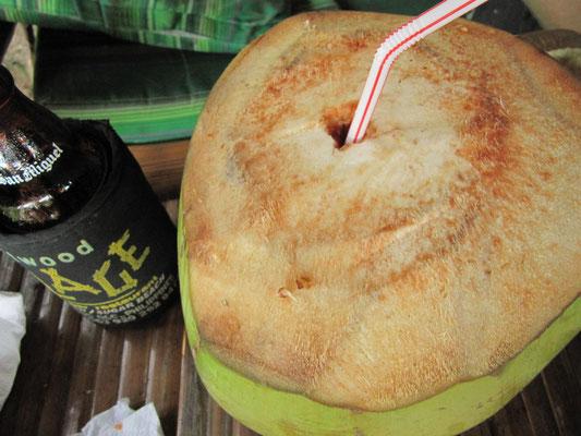 Kokosnuß.