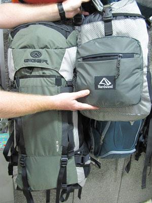 """""""Eiger"""" (größter Hersteller für Outdoor-Produkte in Indonesien) und """"Nordwand"""" (Tochtergesellschaft von Eiger) macht irgendwie """"Eiger-Nordwand"""", oder?"""