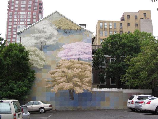 Großartige Bilder zieren die Wänder vieler Häuser in Philly.