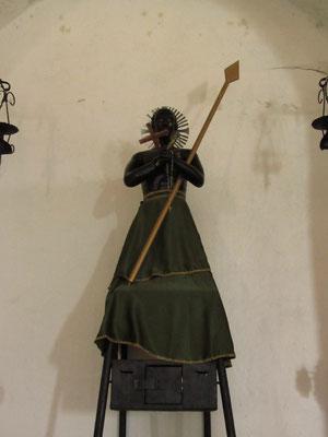 Beängstigender Kirchenschmuck. (Subtavia)