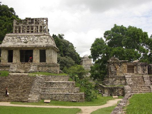Der Sonnentempel ist für viele ein Beweis, dass die Architekten der Mayas unter dem Einfluß von halluzinogenen Pilzen standen. Super Sache!