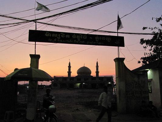 Moschee am Boeng See.