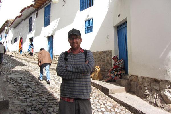 In den Straßen von Cusco.
