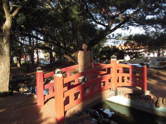 Japanischer Garten. (Plaza de Armas)