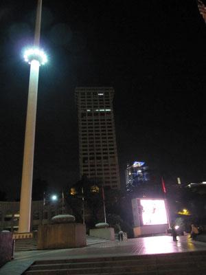 Der Fahnenmast am Merdeka Square.