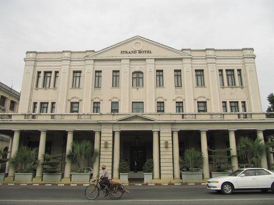 Die erste Adresse in Yangon und ganz Myanmar. Viele große Persönlichkeiten von gestern und heute residierten schon im berühmten Strandhotel.