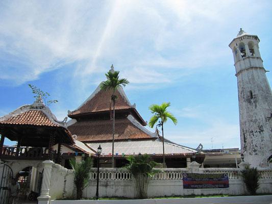 Die Kampung Hulu Moschee wurde 1728 erbaut und gilt als eine der ältesten Moscheen Malaysias.