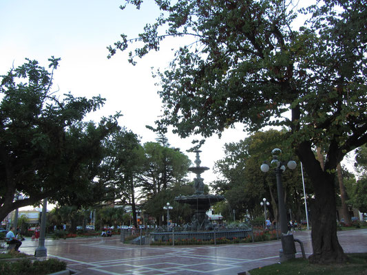 Plaza Independencia.