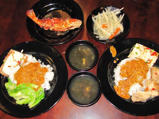 Economy Rice Set.